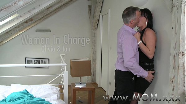mother old milf receives charge of her handsome female friendly