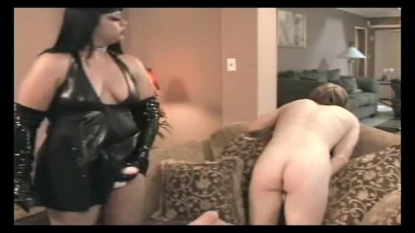 paramour rage dominates her submissive solo male