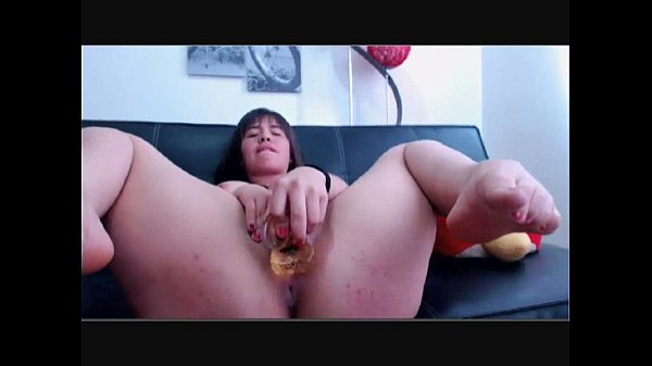 tubby college babe sleek through her dildo on solo male