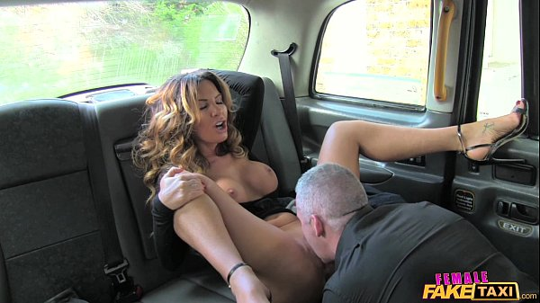 female false taxi savory driver appreciates a straight sex