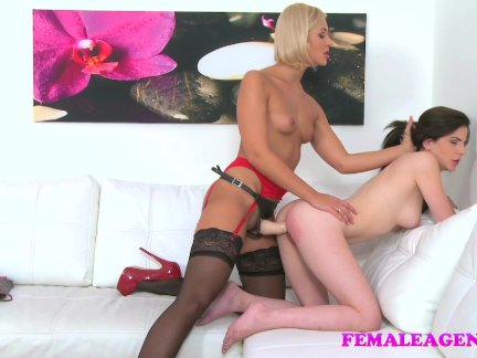 femaleagent tooth strap on supremacy female friendly