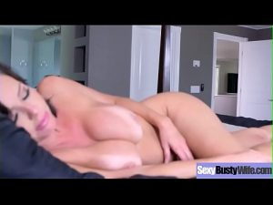 Hot MILF sex tape through gorgeous udders sexy housewife v