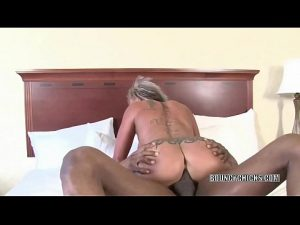 Interracial Hardcore bosomy blonde brooke jameson gets nailed with a n