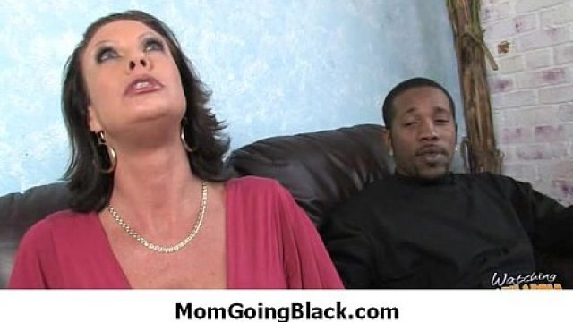 Interracial Sex mother go black coffee and milk hardcore sex