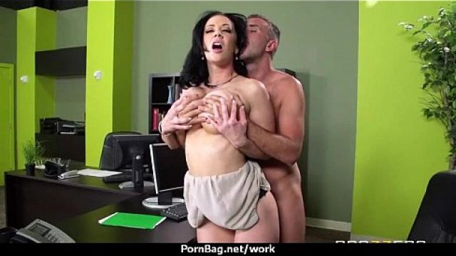 Office Fuck hottest office ride with curvaceous chick 16