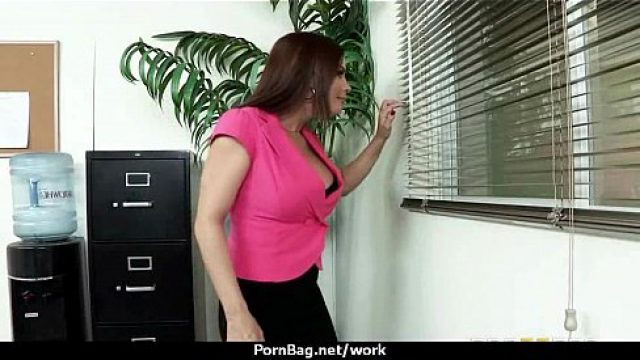 Office Fuck hottest office screw through buxom slut 23