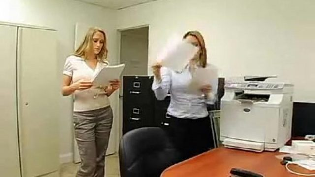 Office Fuck incredible business dirty nailed to her boss