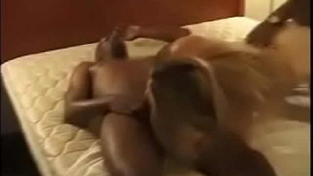 BBC Wife lucky cuckold has a slutty wife that is a real bi