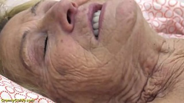 Young Old tasty years mature granny takes rough pumped