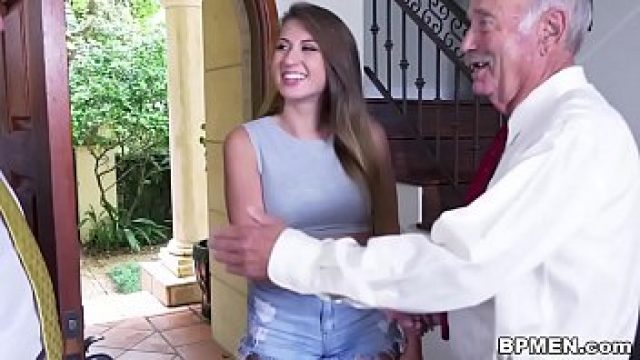 Young Old busty scholar ivy rose visited us of oral sex